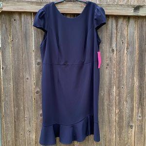 Betsey Johnson Women's Scuba Crepe Midi Dress l22W